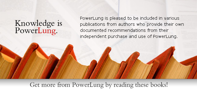 Get more from PowerLung by reading these books!