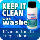 Keep in clean with PowerLung Washe.