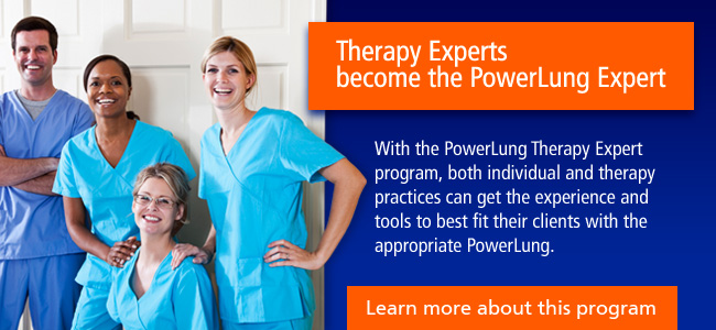 PowerLung Therapy Experts Program