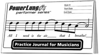 practice journal, powerlung